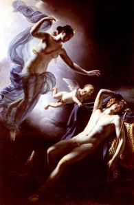 Diane et Endymion by Jerome Martin Langlois