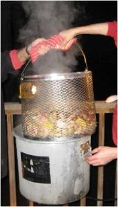 low country boil pot