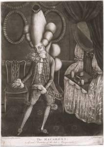 The Macaroni ~ 1773