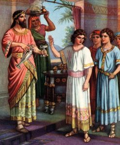 Daniel Refuses the King's Wine and Food