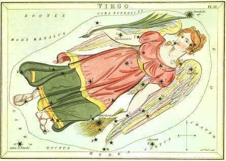 virgo constellation color