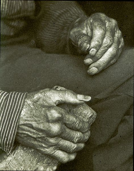 Laborer's Hands by Doris Ulmann