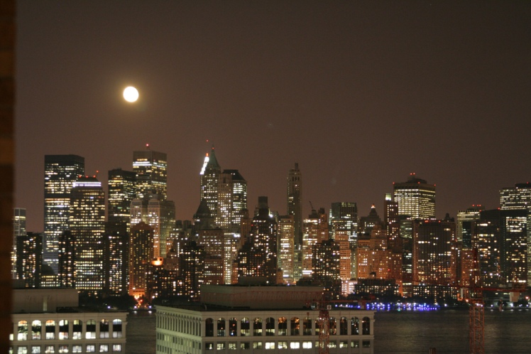 Full Moon over Manhattan