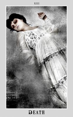 Death from Silver Era Tarot ~ Aunia Kahn, Artist