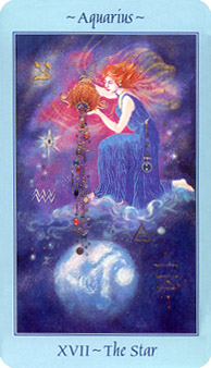 Astrological Picture Book ~ Aquarius and the Star