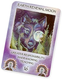 Earth Renewal Moon Spirit of the Wheel Deck