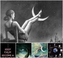 Totally Lunar Board on Pinterest