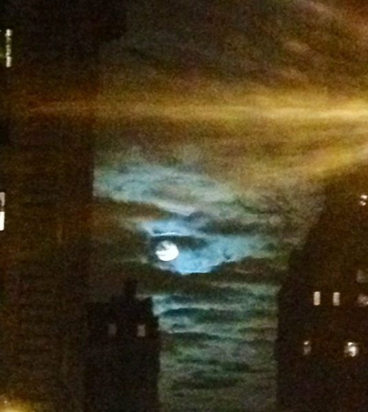 Full Moon in Libra 2013 Manhattan