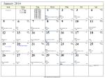 2014 Lunar Calendar