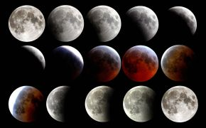 Blue Moon, Black Moon, Dark Moon, Blood Moon