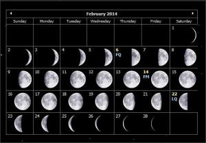 Feb2014moonphases