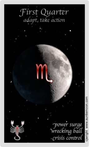 The Daily Moon ~ August 22, 2015 ~ Too MuchTrash