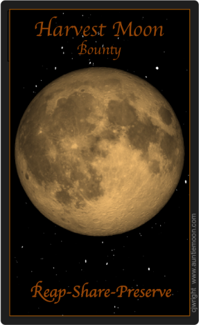 Ceremony for the Harvest Moon Lunar Eclipse2015