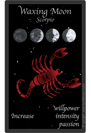 Moon in Scorpio, Oct 13-16, 2015