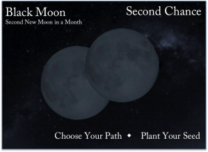 Second New Moon in a Month