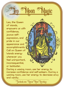 leo-queen-of-wands-moon-magic