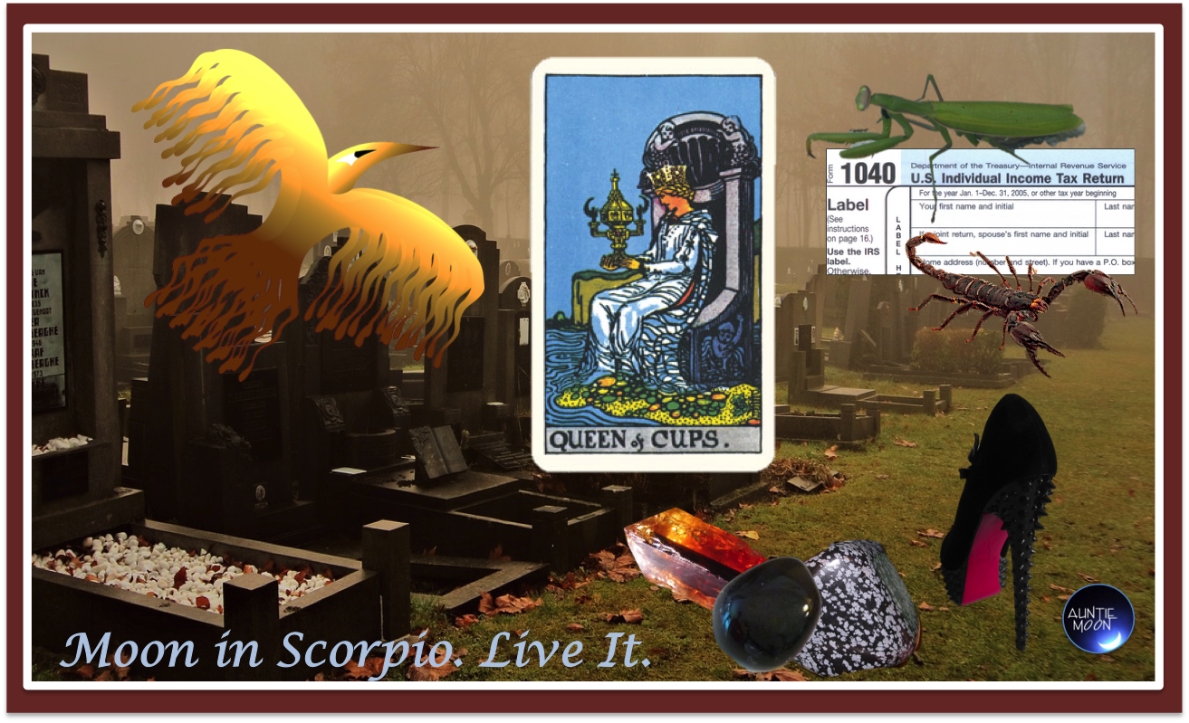 Moon In Scorpio Tools For The Time Auntie Moon