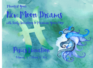 Pisces New Moon Workbook