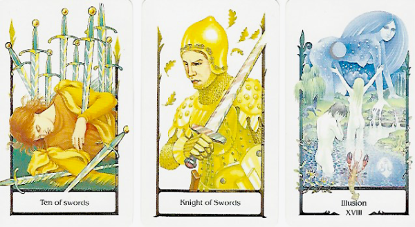 Tarot of the Old Path cards for 24Gemini