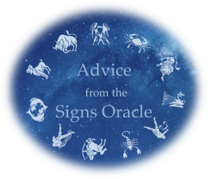 advice from the signs