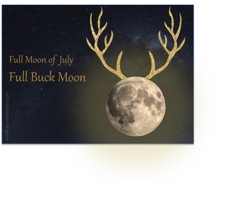 Full Buck Moon In Capricorn And Live Laugh Love Days For