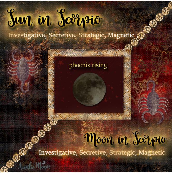 sun in scorpio moon in scorpio small