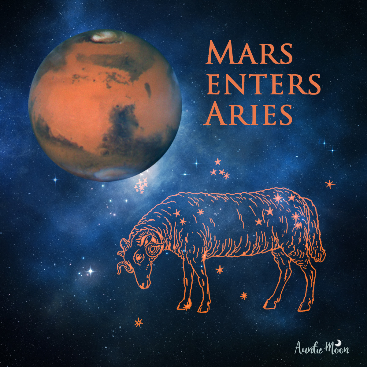 Mars enters Aries