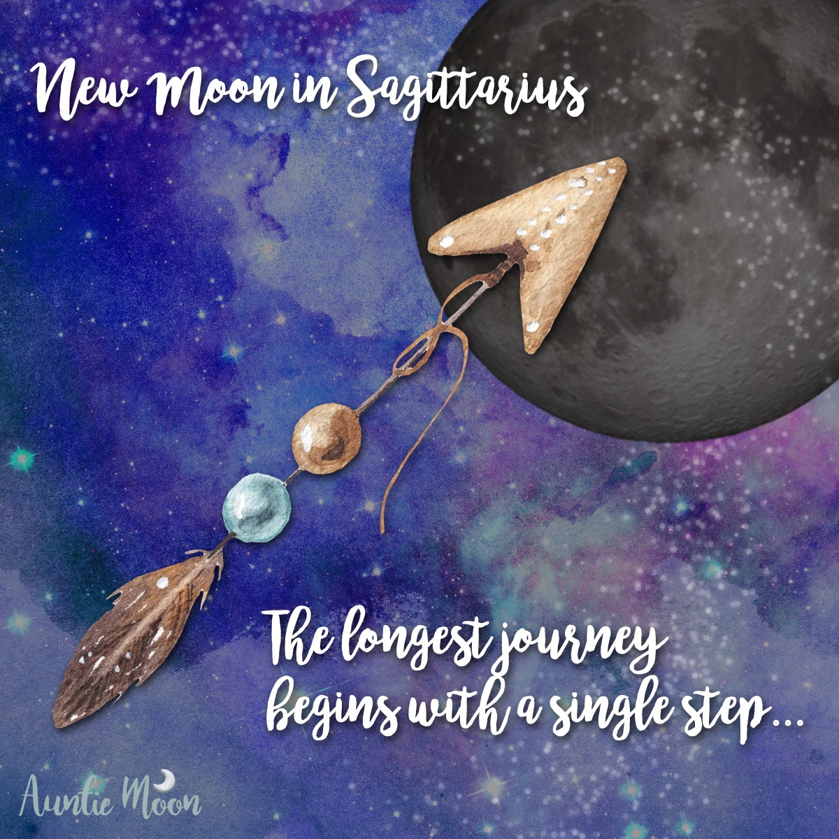 New Moon in Sagittarius: An Exercise for the Journey