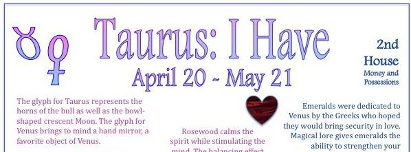 Events during Taurus 2019