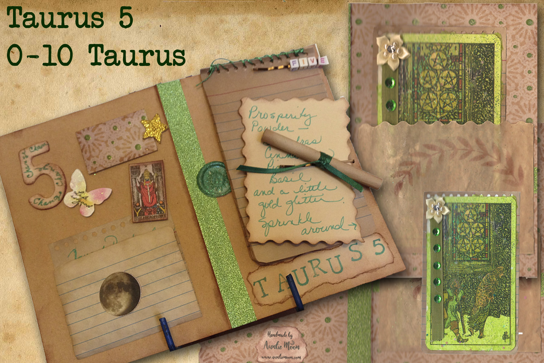 First Decan Taurus and the 5 of Pentacles